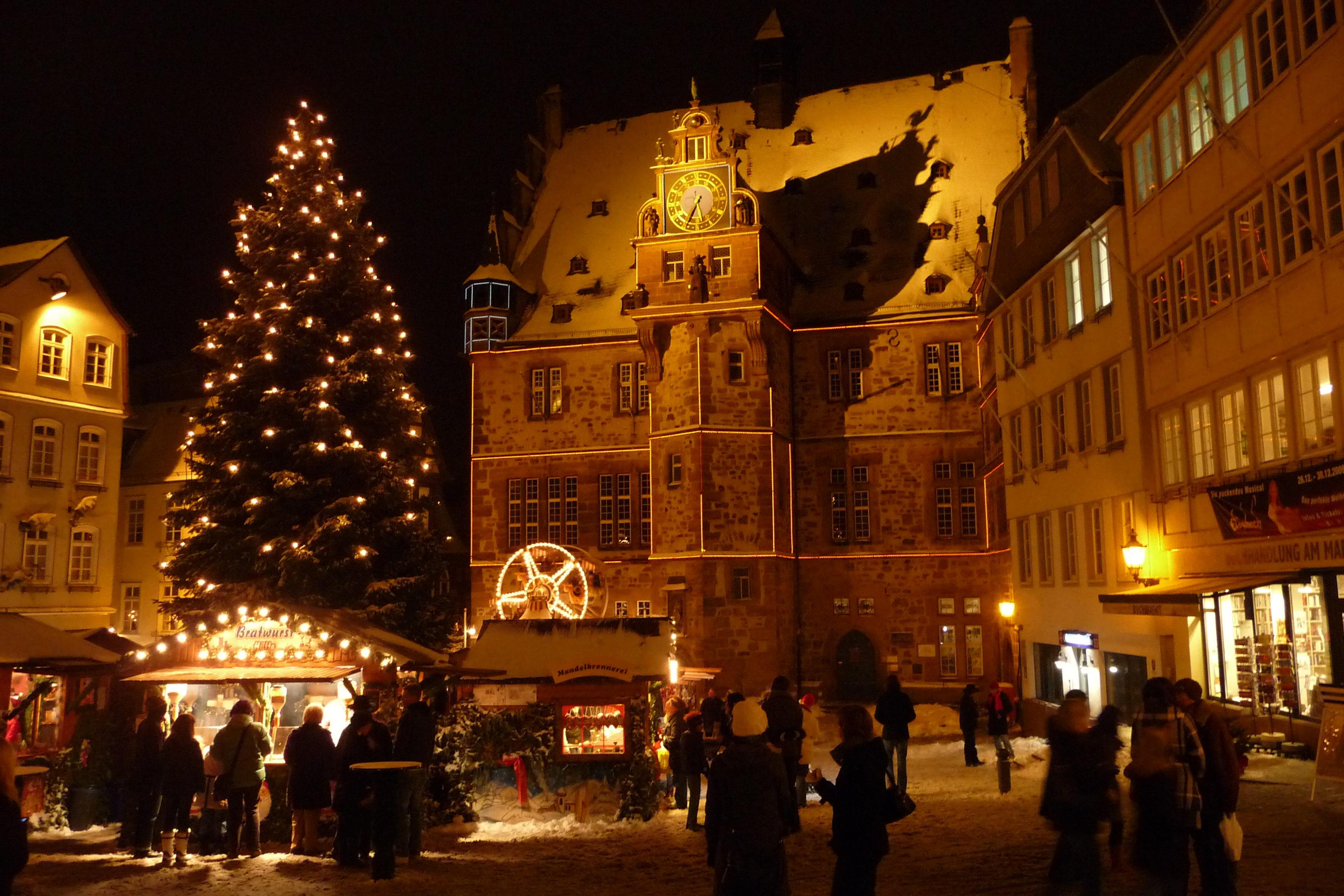 Weihnachtsmarkt In Marburg