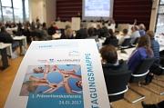 Vorbeugen ist die beste Medizin: Rund 180 Teilnehmerinnen und Teilnehmer diskutierten bei der 1. Präventionskonferenz im Marburger Landratsamt das Thema Gesundheitsförderung. Die Konferenz war der Einstieg in eine neue Vernetzungsstruktur.