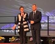 Landrätin Kirsten Fründt und Oberbürgermeister Dr. Thomas Spies ehrten die erfolgreichsten Sportlerinnen und Sportler im Jahr 2016.