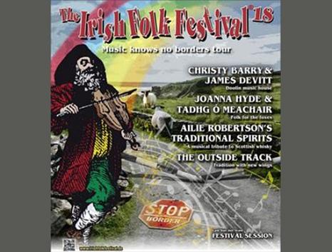 Irish Folk Festival - Werbeplakat©Magnetic Music GmbH