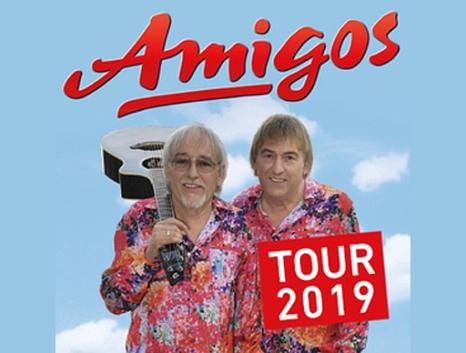 """Die beiden """"Amigos"""" mit Gitarre.©STAR CONCERTS Veranstaltungs GmbH"""