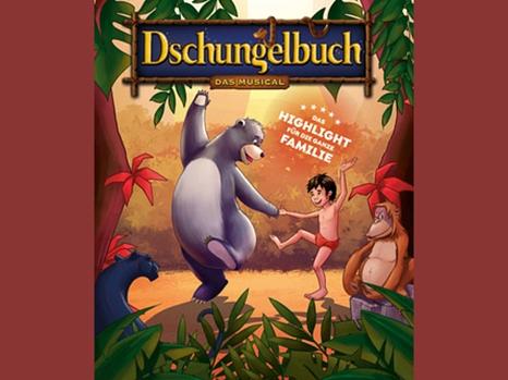 Werbeplakat für das Dschungelbuch-Musical.©Theater Liberi