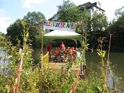 Bereits zum elften Mal machte der Flusskindergarten, ein Gemeinschaftsprojekt von Universitätsstadt, BUND und DLRG, Kinder zu Entdeckern.