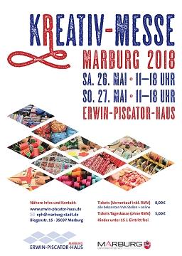 Das Plakat der Kreativmesse im Mai 2018.©Universitätsstadt Marburg