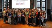 """""""Frauen in die Politik"""": Mehr als 30 Frauen machen bei dem Mentoring-Programm der Stadt Marburg mit. Gemeinsam mit ihren Mentorinnen haben sie sich nun erstmals getroffen."""