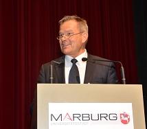 Klare Worte gegen Rassismus, Rechtsextremismus und gesellschaftliche Risse sprach Oberbürgermeister Dr. Thomas Spies.