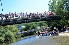 Fast 30 Teams mit knapp 600 Paddlerinnen und Paddlern treten am Wochenende an.©Nadja Schwarzwäller i.A.d. Stadt Marburg