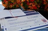 """Wendo Marburg e. V. erhält für sein Projekt """"Refugee WomEN DO it!"""" den 7. Hessischen Gesundheitspreis für die Lebensphase """"Gesund Bleiben – Mitten im Leben"""".©Foto: Andreas Mann"""