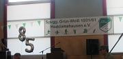 Banner85 Jahre Grün Weiß Haddamshausen
