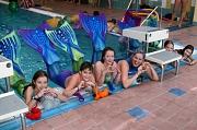 Die Kurse zum Meerjungfrauschwimmen waren schon im Vorfeld komplett ausgebucht. Kleine Schwimmerinnen konnten lernen, sich mit Schwanzflosse im Wasser zu bewegen. Und mutige Meerjungfrauenmänner gab es sogar auch.