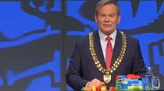 """""""Bauen, bauen, bauen wirkt"""", sagt Oberbürgermeister Dr. Thomas Spies in seiner Neujahrsrede. Der Mietanstieg in Marburg sei gestoppt."""