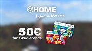 Studierende, die sich neu in Marburg melden, erhalten einen Marburg-Gutschein über 50 Euro, den man in vielen lokalen Geschäften einlösen kann.