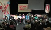 """Sprechen gegen sexualisierte Gewalt und Sexismus: Anlässlich des Internationalen Frauentags fand die Live-Performance """"#metoo. Ein Plädoyer für das Sprechen"""" mit anschließender Diskussionsrunde statt."""