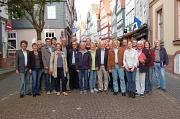 Bürgermeister Dr. Franz Kahle (links) traf sich mit den Vertreterinnen und Vertretern der Außenstadtteil zu einer ersten Sitzung. Am Donnerstag beginnen die öffentlichen Ortsrundgänge zur Dorfentwicklung.