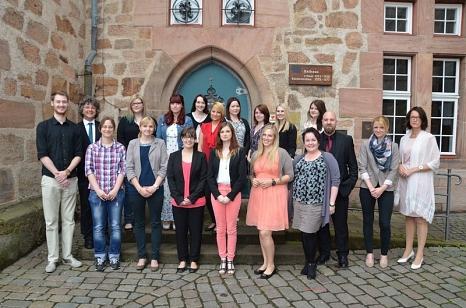 Abschluss der Ausbildung©Universitätsstadt Marburg - Tina Eppler