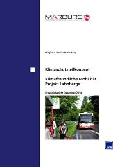 Abschlussbericht: Klimaschutzteilkonzept - Klimafreundliche Mobilität, Projekt Lahnberge©Universitätsstadt Marburg