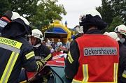 """Der erste """"Aktionstag Verkehr"""" informierte über vermeidbare Gefahren und lockte rund 1000 interessierte Gäste mit einem eindrucksvollen Programm. Dafür wurde die Feuerwehr Ockershausen jetzt für den Feuerwehr-Oscar nominiert."""