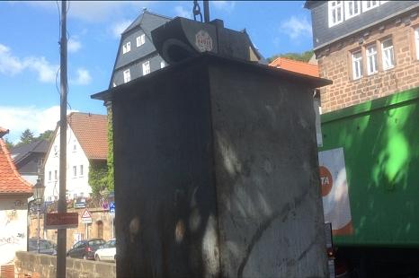 Glascontainer Marburg