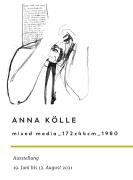 Anna Kölle Ausstellung Cover