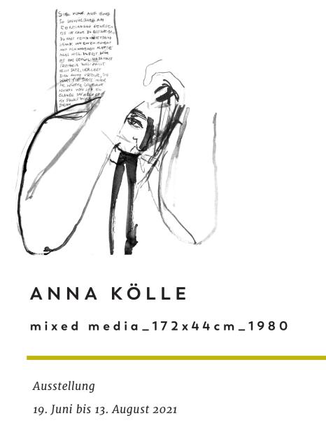 Anna Kölle Ausstellung Cover©Anna Kölle