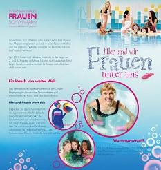 AquaMar - Flyer Frauenschwimmen 2019 Seite 2 - als Bild©Universitätsstadt Marburg