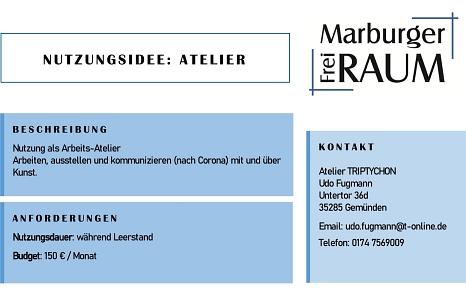 Atelier TRIPTYCHON©Stadtmarketing Marburg e. V.
