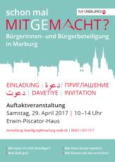 Auftaktveranstaltung Bürger/innenbeteiligung©Universitätsstadt Marburg