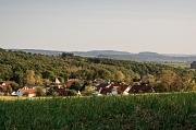 Der Ausblick über Cyriaxweimar.