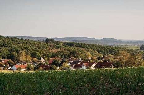 Der Ausblick über Cyriaxweimar.©Ole Widekind, i. A. d. Stadt Marburg