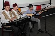 Zum Auftakt des Neujahrsempfangs des Marburger Ausländerbeirats spielte eine Gruppe aus Syrien auf.