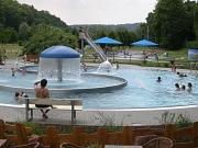 Freizeit im Schwimmbad