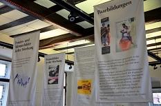 Ausstellung Frauen- und Männerbilder in der Werbung im Rathaus Marburg©Universitätsstadt Marburg - Frau Boffo