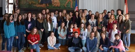 Austausch der MLS mit Poitiers©Universitätsstadt Marburg - Tina Eppler