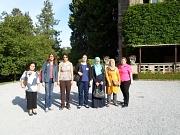 Austausch Sfax-Marburg_Summer School 2015, Kirstin Baum (r.) hieß die Tunesierinnen willkommen