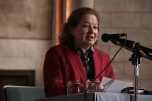 Generalkonsulin Sophie Laszlo sprach ein Grußwort.