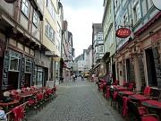 Die Stadtwerke Marburg werden in zwei Bauabschnitten die Wasser- und Gasversorgungsleitungen in der Barfüßerstraße erneuern.