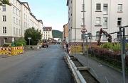 Baustelle in der Robert-Koch-Straße noch bis Ende August - Wegen Regenfällen zwei Wochen verlängert