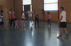 Bernd leitet das Sportprogramm für jung und alt©Bernd Weimer