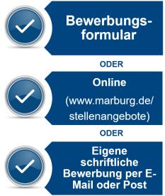 Bewerbungsverfahren©Universitätsstadt Marburg