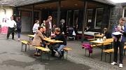 Auf dem Schulhof der Sophie-von-Brabant-Schule