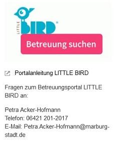 Bird_Betreuung für Kinder.JPG©Universitätsstadt Marburg