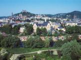 Blick auf Marburg mit Sicht auf das Schloss und die Elisabethkirche©Stadt Marburg