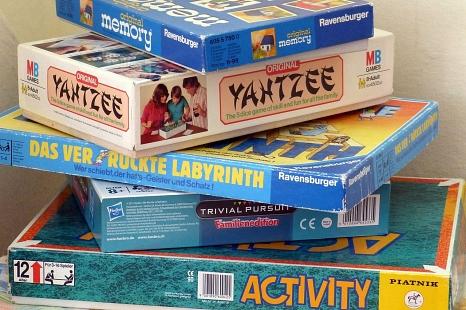 Spielenachmittag für Kinder von sechs bis zwölf Jahren©Stadtbücherei Marburg