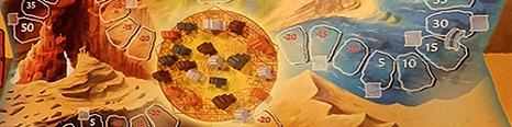 Ausschnitt aus einem Brettspiel mit Spielfiguren©Universitätsstadt Marburg