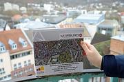 """Die Broschüre dokumentiert anhand zahlreicher Fotografien und kurzen Erläuterungstexten, wie sich das Stadtbild ab 1986 im Laufe der Zeit in dem Sanierungsgebiet """"Nördliche Altstadt"""" mit Ersatz- und Ergänzungsgebiet """"Schlachthof / Stockgelände"""" gewandelt"""