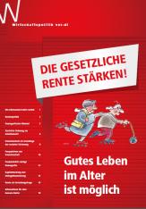 """Broschüre """"Die gesetzliche Rente stärken""""©ver.di"""