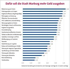 Bürger/innenbefragung: Vorstellung der Ergebnisse©Universitätsstadt Marburg