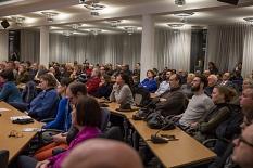 Rund 120 Interessierte informierten sich bei der Bürgerinformationsveranstaltung zur Weidenhäuser Brücke über das Bauprojekt und die Verkehrsauswirkungen.©Stadt Marburg, Patricia Grähling