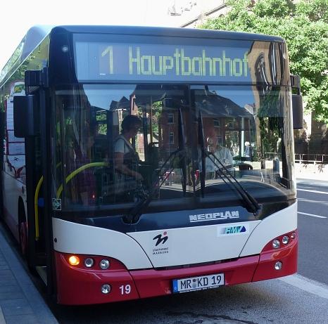 Alle Angebote des Marburger Busnetzes bleiben bestehen.©Archivfoto: Stadt Marburg