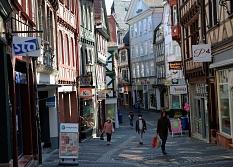 Die Marburger Oberstadt bietet ein besonderes Einkaufsflair – dies wollen die Beteiligten besser vermarkten.©Thomas Steinforth, Stadt Marburg
